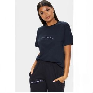 NWT PrettyLittleThing Oversized Tee Size M